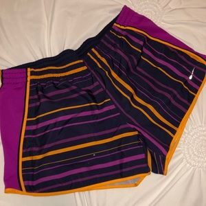 Colorful nike shorts